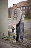 Michi, Skateboard, Outdoorshooting Oldenburg